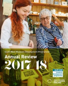 Annual Review cover image for 2017-18